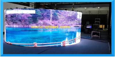 led curved screen