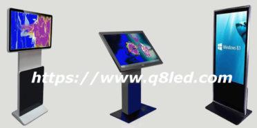 شاشات دعائية عمودية lcd kiosks