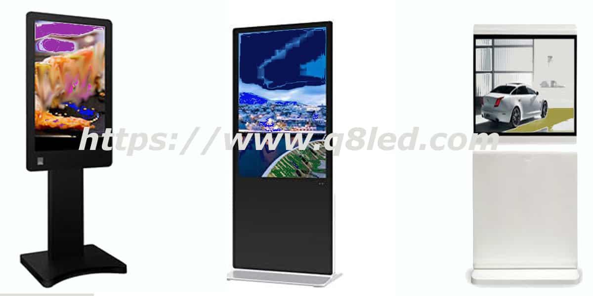 تأجير شاشات Floor Standing خدمات مميزة افضل سعر