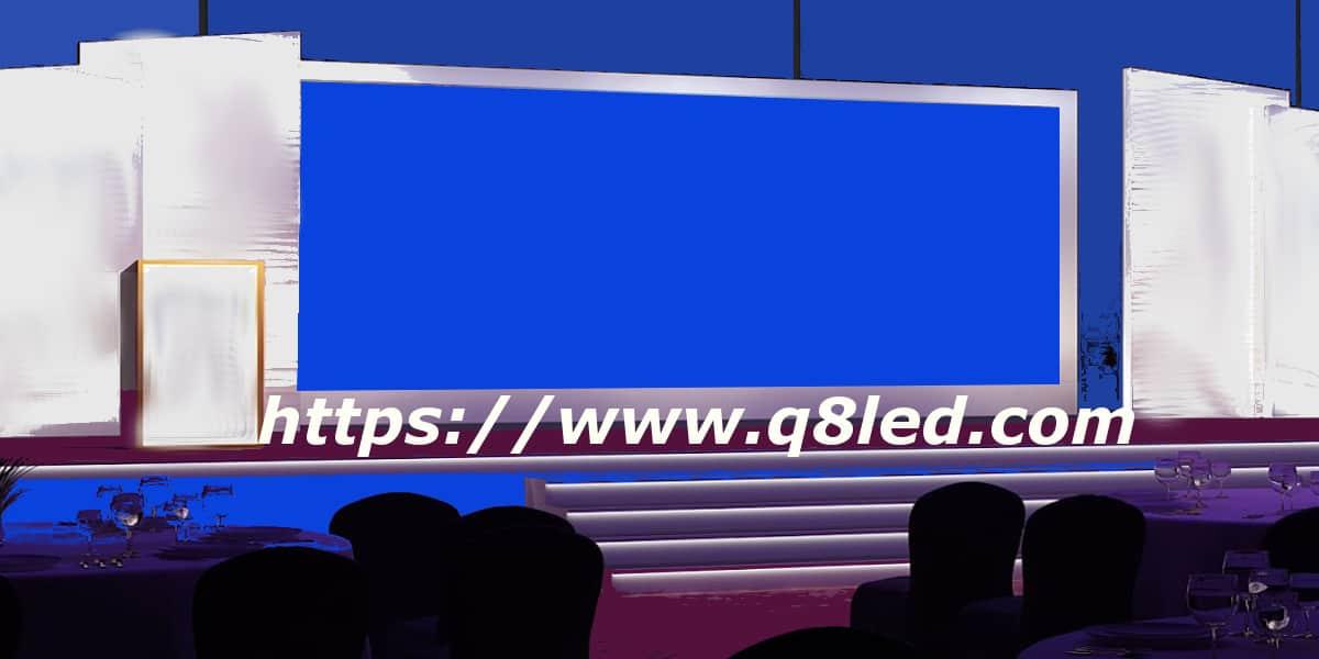شاشات عرض المؤتمرات